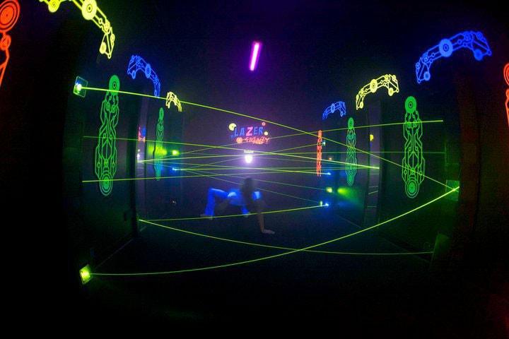 Laser tag in hampton roads